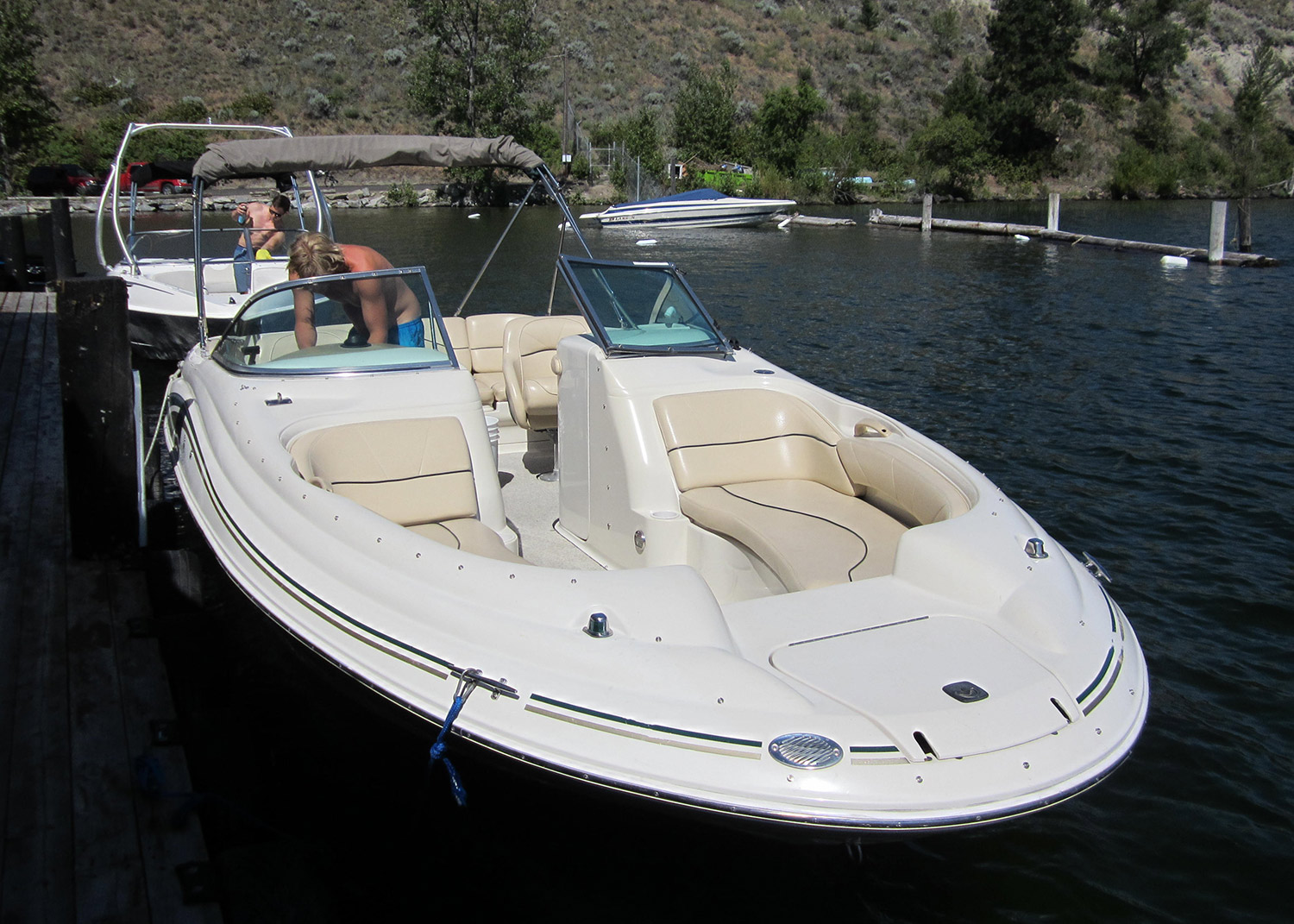Sea Ray 210 Rental