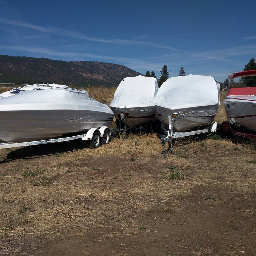 Outdoor Boat Storage Kelowna Boat Storage Boat U0026 RV Storage ...